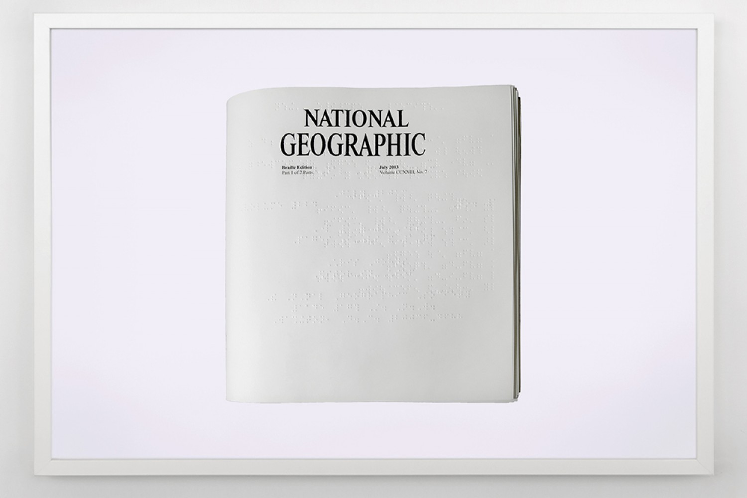 News to Be Read (National Geographic), 2013