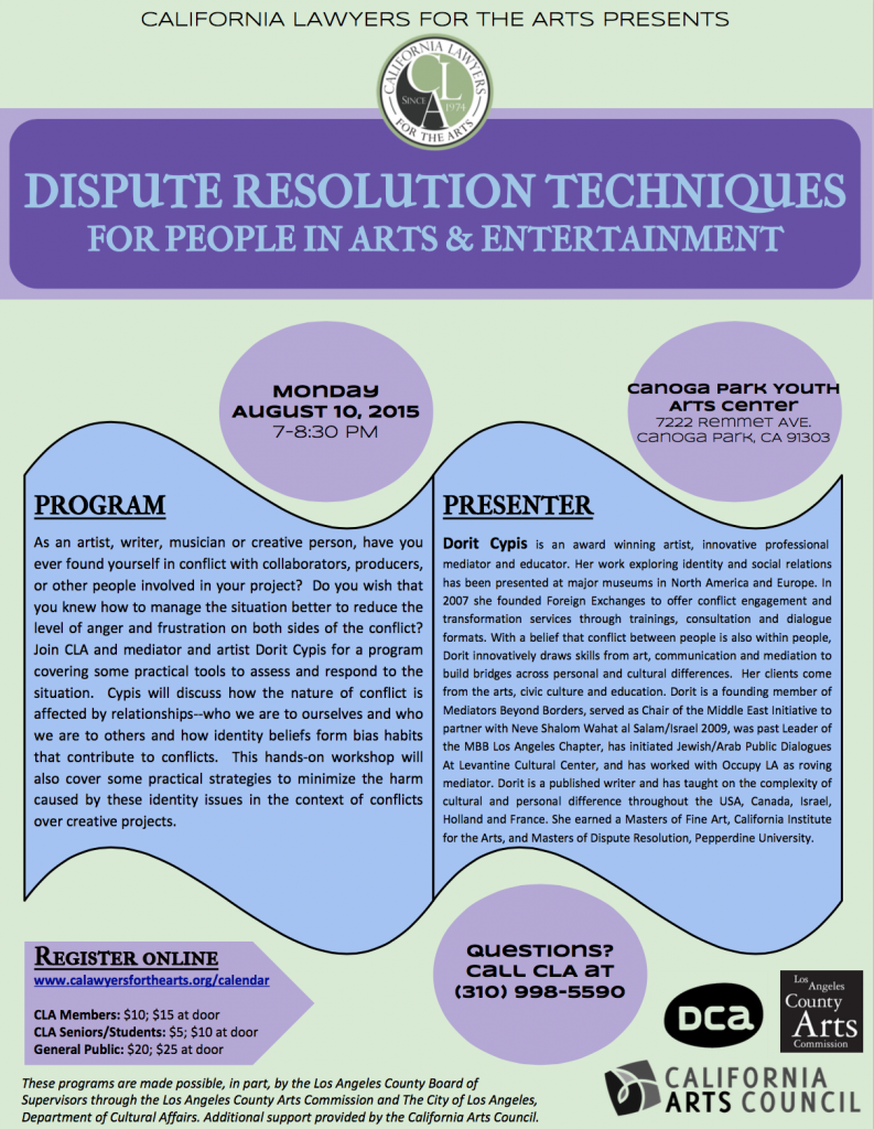 Dispute Resolution Techniques